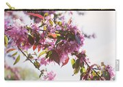 Cherry Tree Flowers Carry-all Pouch