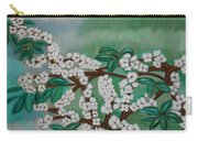 Cherry Tree Rich In Flowers Carry-all Pouch