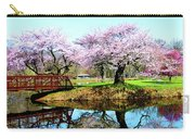 Cherry Trees In The Park Carry-all Pouch