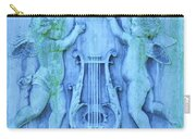 Cherubs In Turquoise Carry-all Pouch