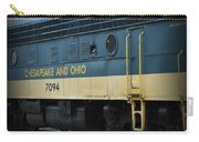 Chesapeake And Ohio Boxcar  Carry-all Pouch