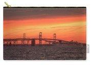 Chesapeake Bay Bridge Sunset Carry-all Pouch