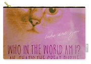 Cheshire Cat Quote Carry-all Pouch