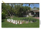 Chess At The Biltmore Carry-all Pouch