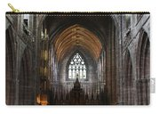 Chester Cathedral England Uk Inside The Nave Carry-all Pouch