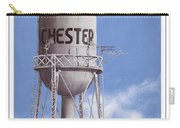 Chester Water Tower Poster Carry-all Pouch