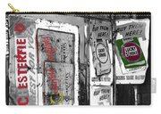 Chesterfield And Lucky Strike Cigarette Signs S. Meyer Avenue Barrio, Tucson, Az 1967-2016 Carry-all Pouch