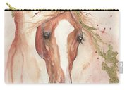 Chestnut Arabian Horse 2016 08 02 Carry-all Pouch