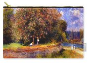Chestnut Tree Blooming 1881 Carry-all Pouch