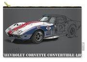 Chevrolet Corvette Convertible L88 1968,original Fast Race Car Carry-all Pouch