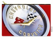 Chevrolet Corvette Hood Ornament Carry-all Pouch