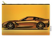 Chevrolet Corvette Stingray 2013 Painting Carry-all Pouch