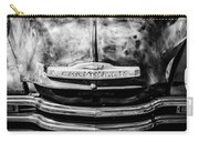 Chevrolet Truck Grille Emblem -0839bw1 Carry-all Pouch