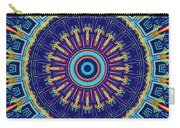 Chevrons II Mandala Carry-all Pouch