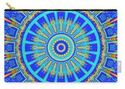 Chevrons Mandala Carry-all Pouch