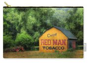 Chew Red Man Carry-all Pouch