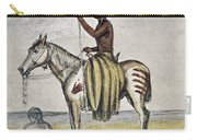 Cheyenne Warrior, 1845 Carry-all Pouch