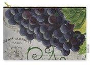 Vins De Champagne 2 Carry-all Pouch