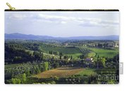 Chianti Region In Italy Carry-all Pouch by Gregory Ochocki and Photo Researchers