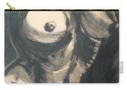 Chiaroscuro Torso - Female Nude Carry-all Pouch