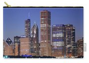 Chicago 2018 Blue Hour Carry-all Pouch