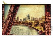 Chicago Approaching The City In June Textured Carry-all Pouch