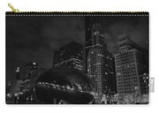 Chicago Cloud Gate Night Carry-all Pouch