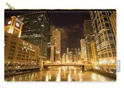 Chicago Downtown City  Night Photography Carry-all Pouch
