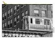 Chicago El And Warehouse Black And White Carry-all Pouch