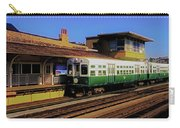 Chicago El Vintage  Cars At Armitage  Carry-all Pouch