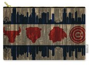 Chicago Flag Barn Door Carry-all Pouch