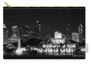 Chicago Grant Park Grayscale Carry-all Pouch