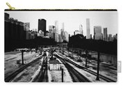 Chicago Grant Park Railroad Skyline Carry-all Pouch