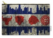 Chicago Grunge Flag Carry-all Pouch