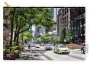 Chicago Hailing A Cab In June Carry-all Pouch
