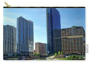 Chicago Heading Up The North River Branch Carry-all Pouch
