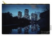 Chicago High-rise Buildings By The Lincoln Park Pond At Night Carry-all Pouch