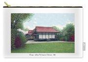 Chicago - Japanese Tea Houses - Jackson Park - 1912 Carry-all Pouch
