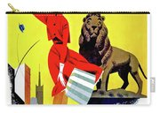 Chicago, Lion, Shopping Woman Carry-all Pouch