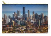 Chicago Looking East 01 Carry-all Pouch