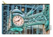 Chicago Marshall Field State Street Clock Carry-all Pouch