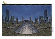 Chicago Millennium Park Bp Bridge Mirror Image Carry-all Pouch