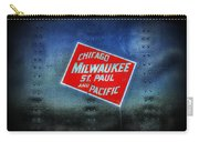 Chicago Milwaukee St. Paul And Pacific Carry-all Pouch