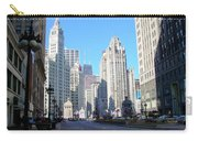 Chicago Miracle Mile Carry-all Pouch