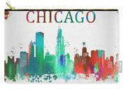 Chicago Paint Splatter Carry-all Pouch