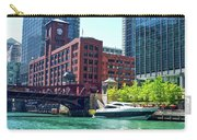 Chicago Parked By The Clark Street Bridge On The River Carry-all Pouch