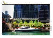 Chicago Parked On The River By 320 River Bar Carry-all Pouch