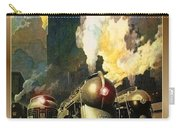 Chicago Railway, Steam Trains Carry-all Pouch