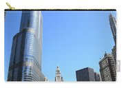 Chicago River And Skyline Carry-all Pouch