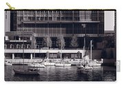 Chicago River Boats Bw Carry-all Pouch
